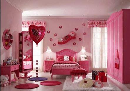 Meisje slaapkamer decoratie apps op google play