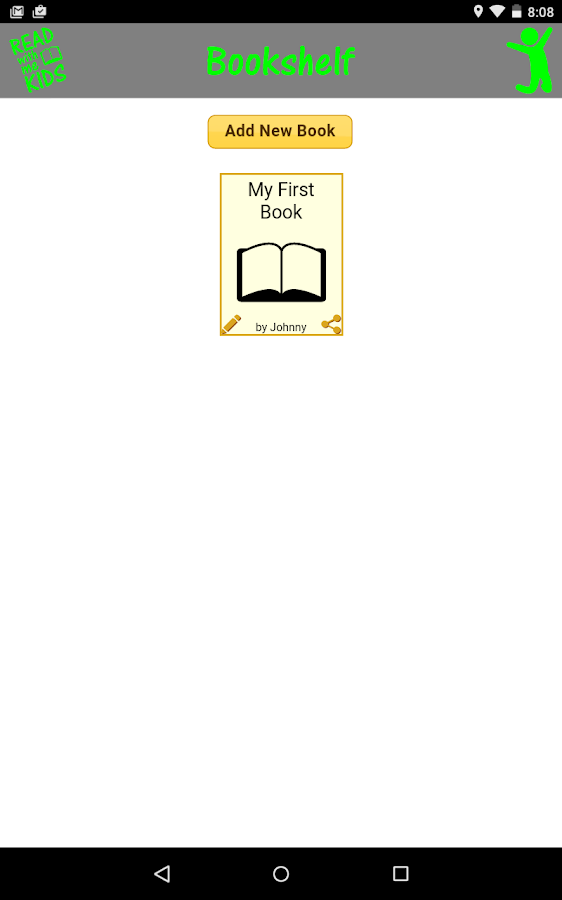 Read With Me Kids Book Maker- screenshot
