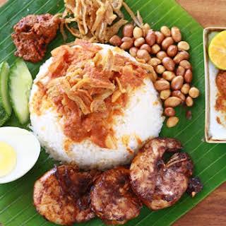 Nasi Lemak Recipe (Part 4) - Coconut Milk Rice.