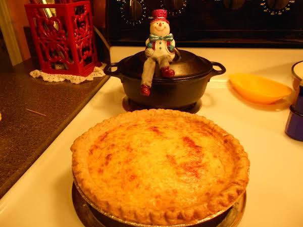 Ham And Potato Cheese Quiche Recipe