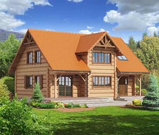 projekt Bolesławice drewniane