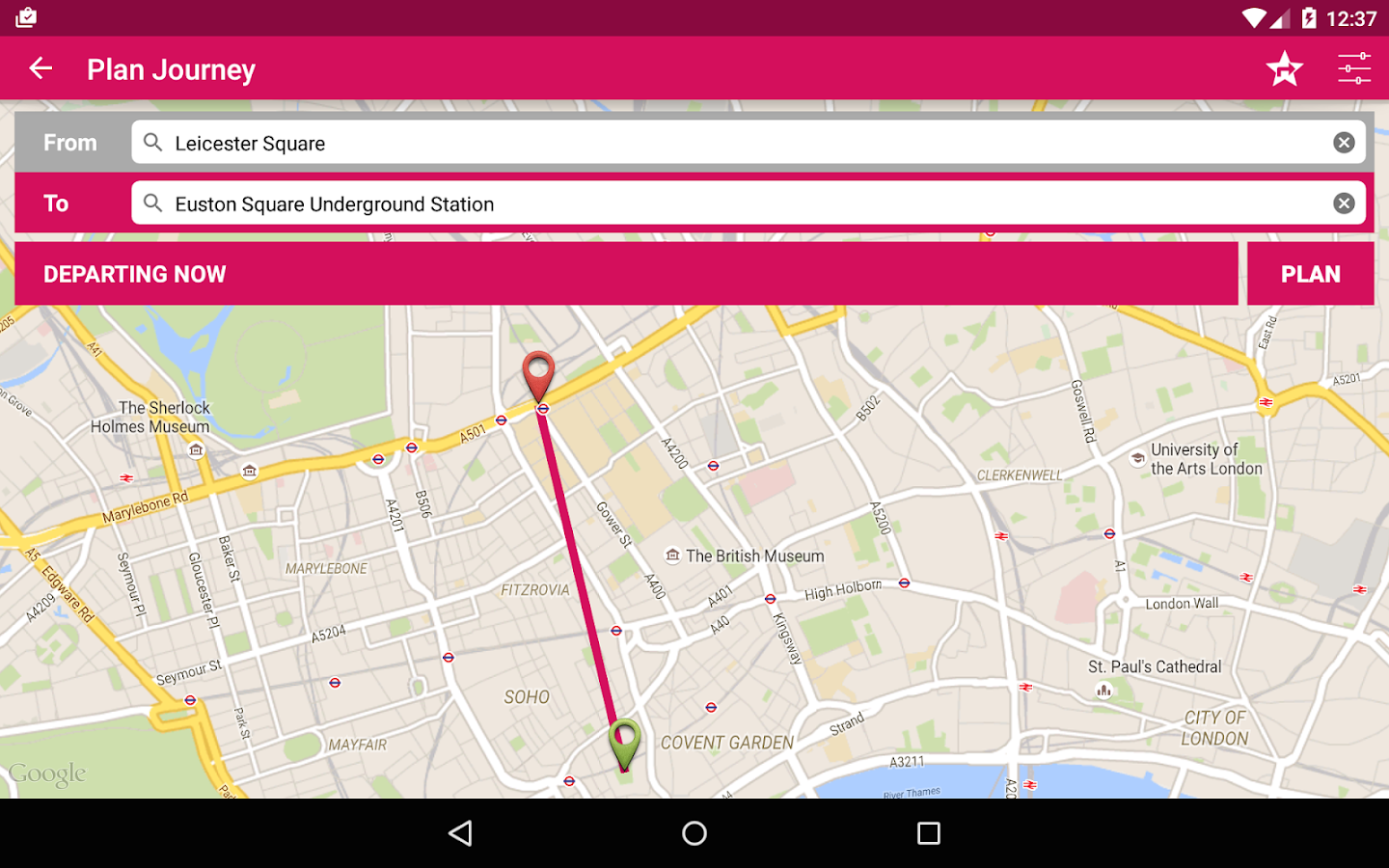 London Bus Checker Free: Times- screenshot