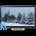 Snowfall on TV via Chromecast icon