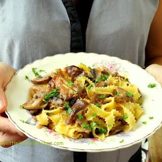 Mushroom Tagliatelle and Buon Appetito! Recipe