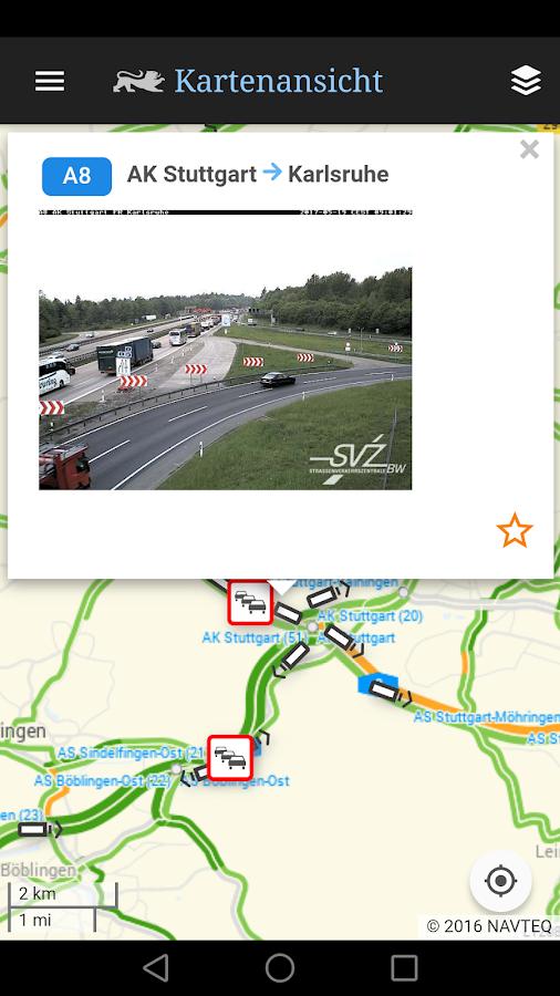 App Verkehrslage