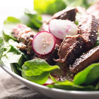 Easy Asian Steak Salad.