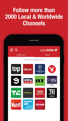 appdater - Breaking and Trending News 3.2.4 screenshots 2