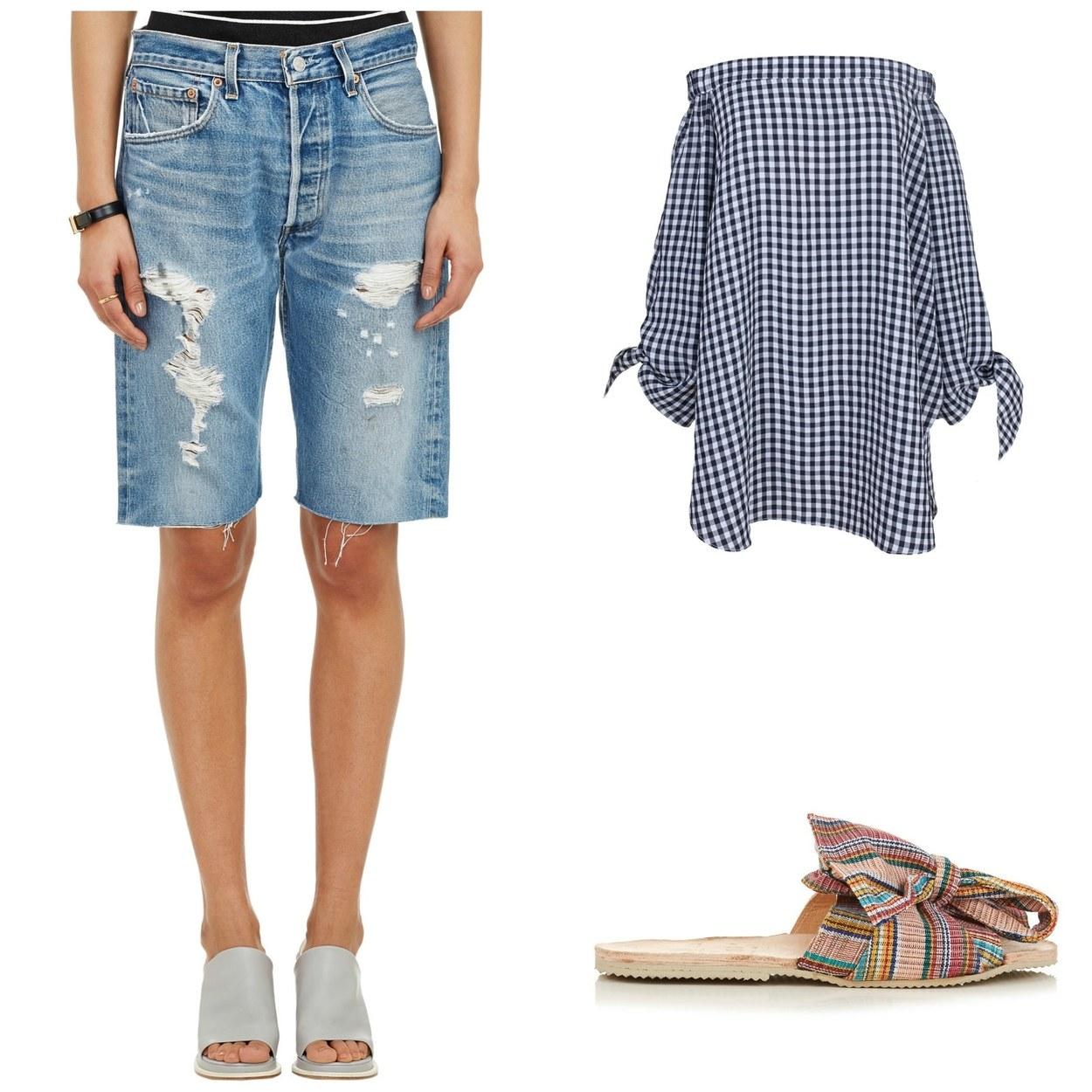 5 maneiras novas de usar shorts jeans 02