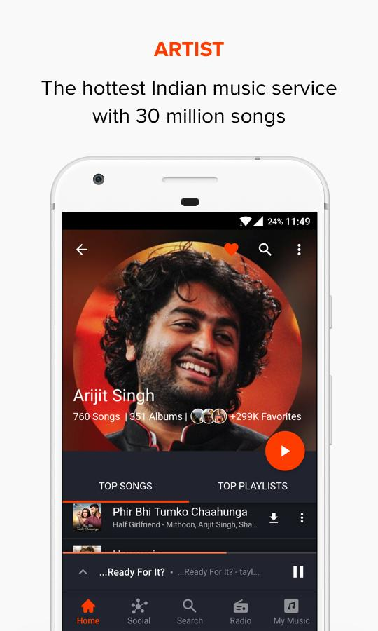 Gaana Music Premium (Ad Free Mod) Bollywood Songs latest Version 7.8.9.1 5