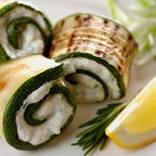 Grilled Zucchini Roll-Ups.