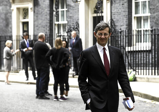 Vodafone CEO Vittorio Colao leaves 10 Downing Street in London, Britain, on May 30 2018. Picture: REUTERS/SIMON DAWSON