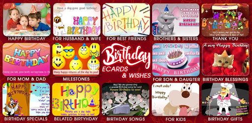 Birthday Wishes - Apps on Google Play