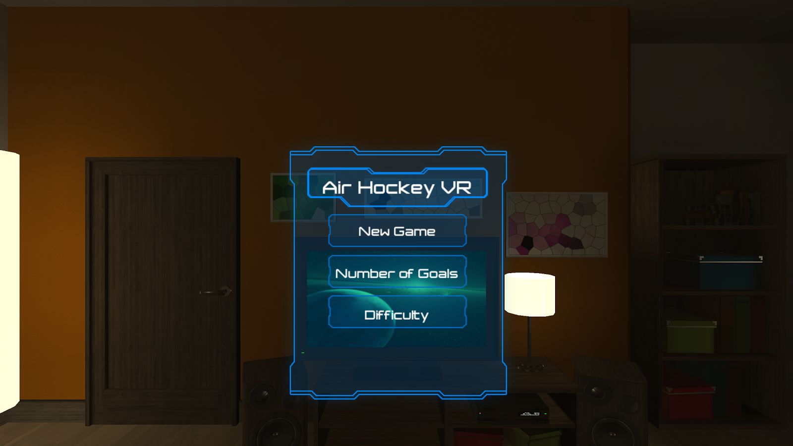 Air Hockey VR- screenshot
