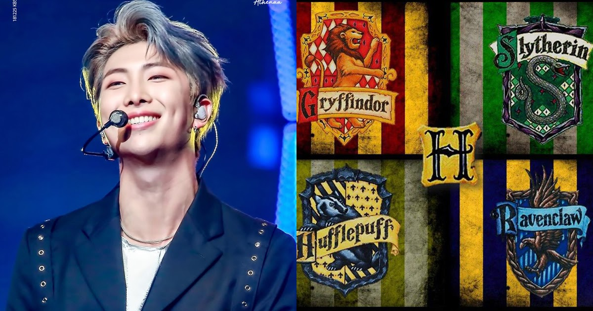 These Are Bts S Harry Potter Hogwarts Houses According To Rm
