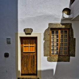 typical door and window by Carlos Pereira - Buildings & Architecture Homes