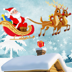 Santa Claus Delivery Icon