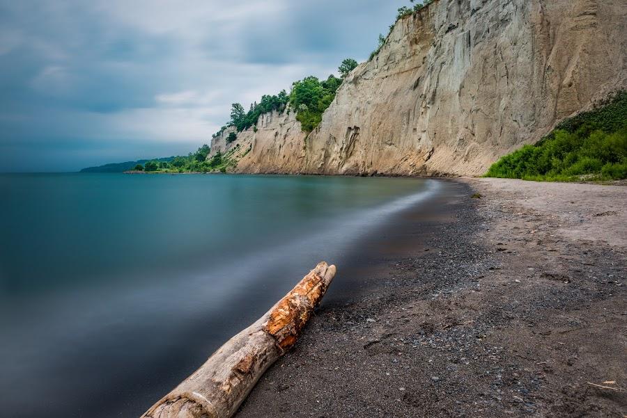 Scarborough Bluffs Toronto by Chris Dufresne - Landscapes Waterscapes ( nikor 24mm, d800, toronto, long exposure, beach )
