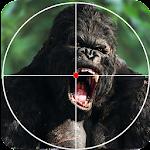 Wild Gorilla Hunting Free Games 2017 Icon