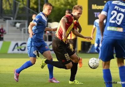 Veselinovic scoort en bedient voor KV Mechelen tegen Moeskroen