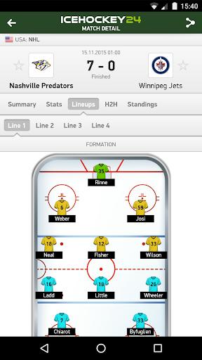IceHockey 24 - hockey scores 玩運動App免費 玩APPs