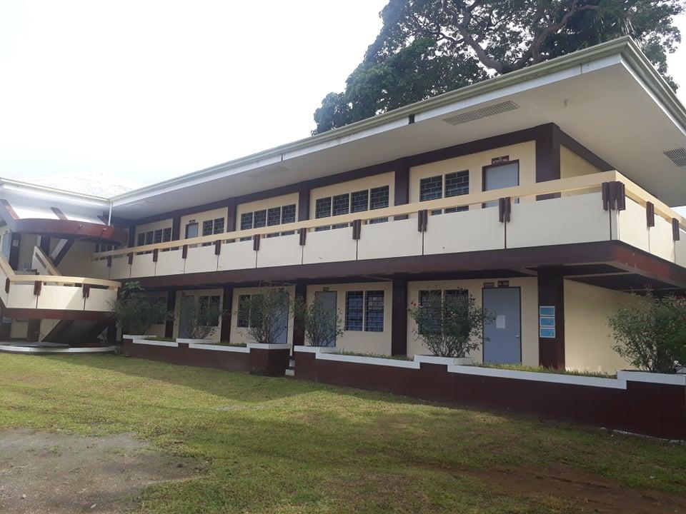 AT A GLANCE. Classrooms located at the CET Annex Building.