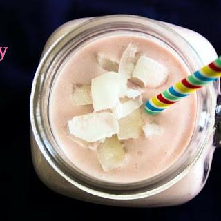 Raspberry Keto Protein Shake.