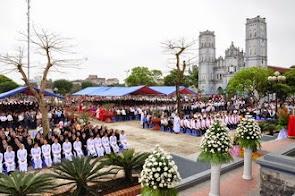 Giới gia trưởng giáo phận Phát Diệm mừng lễ Thánh Giuse