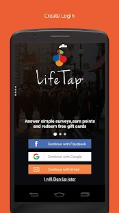 LifeTap - Reward App for Surveys. - náhled