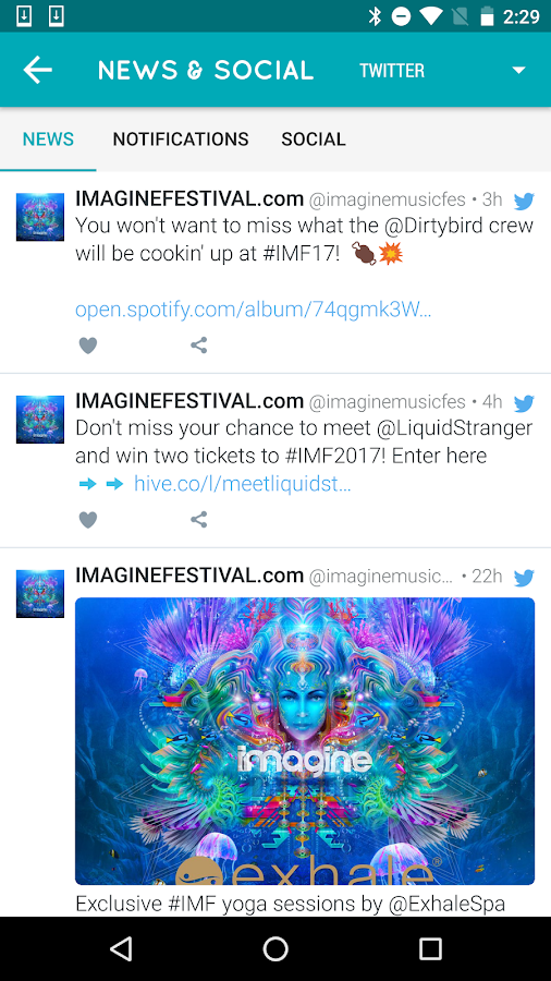 Imagine Festival 2017- screenshot