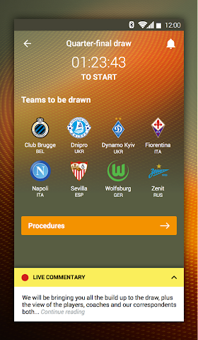 android UEFA Europa League Screenshot 4