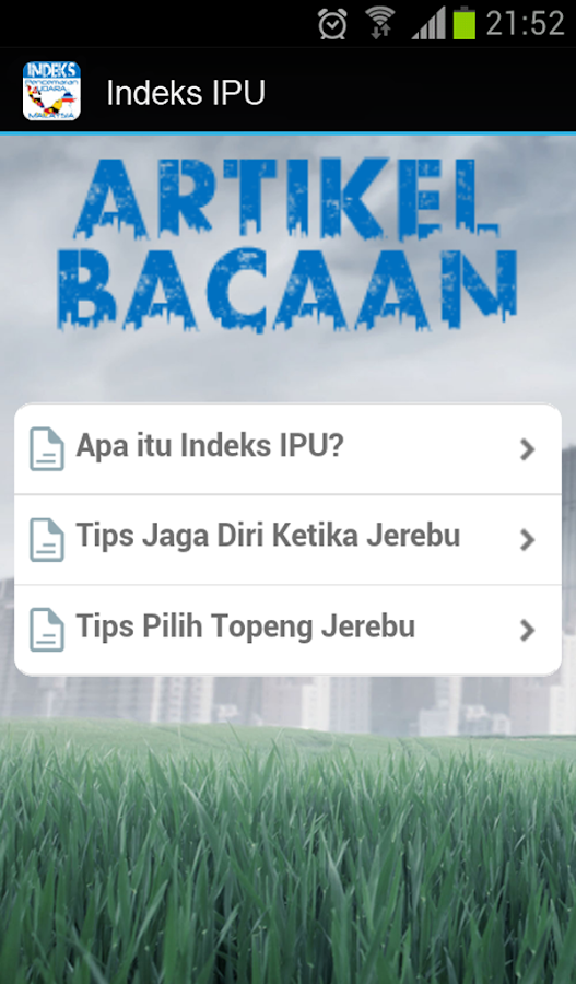 Indeks Pencemaran Udara - IPU- screenshot