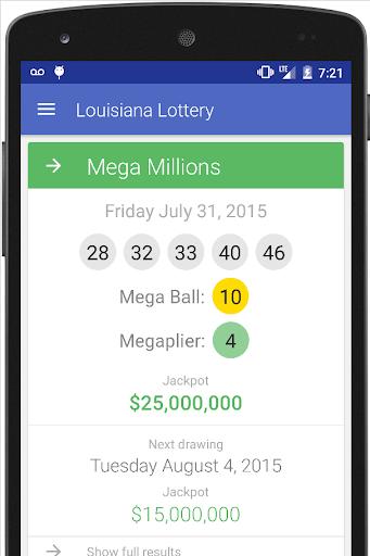 Louisiana: The Lottery App