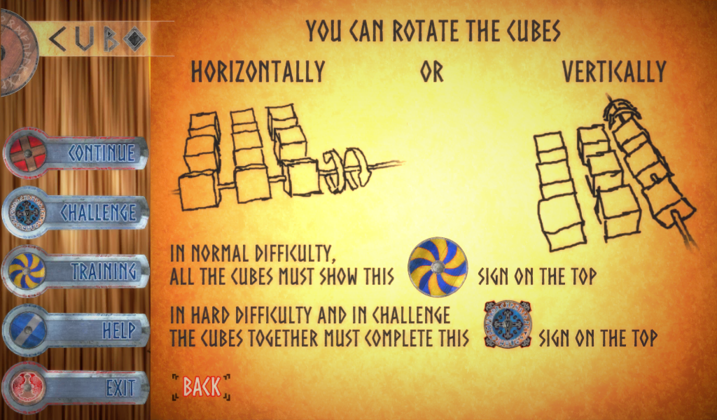 Cubo - The Viking logic-game- screenshot