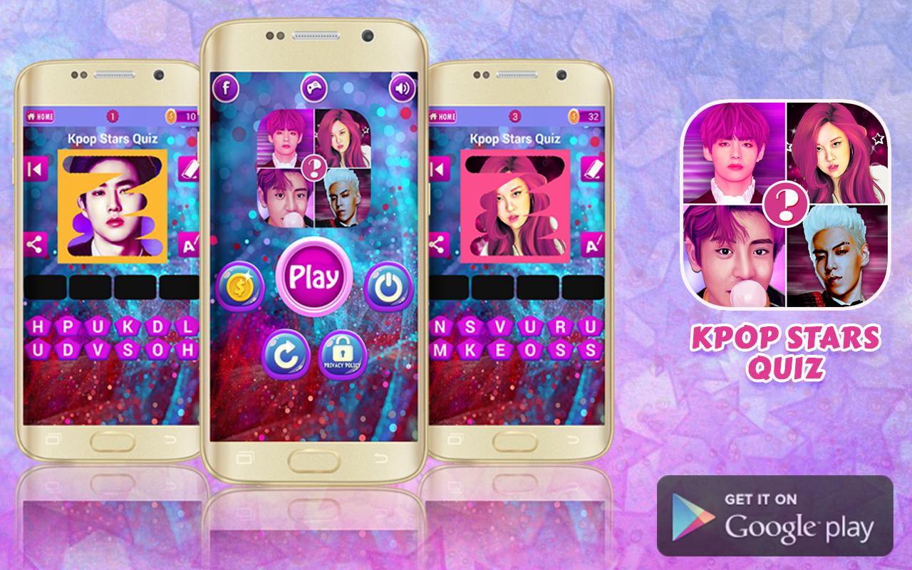 Google themes kpop - Kpop Quiz Guess The Idol Screenshot