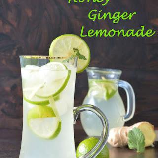 Honey Ginger Lemonade
