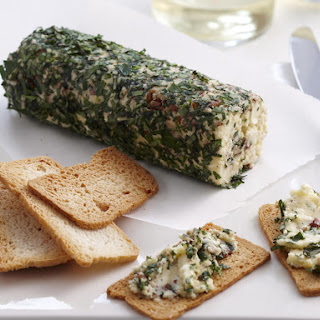 Herbed Cheese with Crostini.