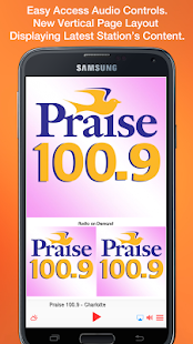 Praise 100.9 - Charlotte- screenshot thumbnail