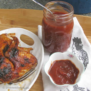 Bourbon infused BBQ sauce.