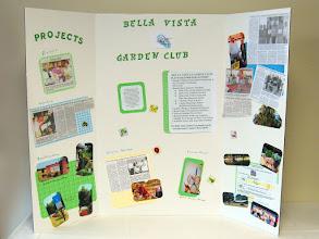 Photo: Recent Bella Vista Garden Club projects.