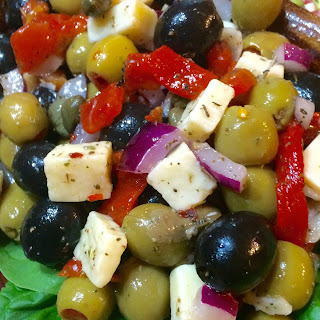 Marinated Olives & Cheese