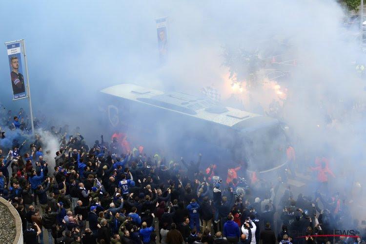 🎥 Les supporters de Genk accompagnent le bus des joueurs vers le titre