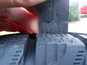 Photo: Other side of tire pictured