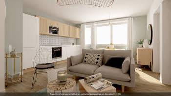 Appartement 2 pièces 52,19 m2