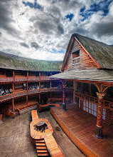 Photo: Shakespeare's Globe Theater in London, England  Now, this is not the original theater, but it is a fully operational new version of it, located right beside the Thames in Central London. I was lucky enough to get a private tour of the facility and it was really cool, as you can see. Everything appears to be pretty authentic, from the thatched roof to the multiple view levels. In fact, it's exactly how I remember it from Civilization.  from Trey Ratcliff at www.stuckincustoms.com