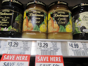 Photo: I've heard AMAZING things about Dickinson's Lime Curd.  I think I will get some to use as a spread on my breakfast bread.  But they ony have lemon..no lime!