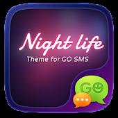 (FREE) GO SMS NIGHT LIFE THEME