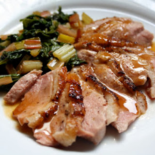 Broiled Duck Breasts with Orange Chipotle Sauce Recipe