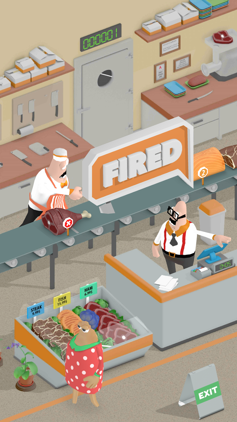 Скриншот Fired: Butcher
