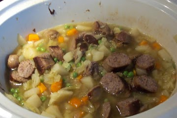 Polish Sausage, Cabbage & Potatoes Soup Recipe