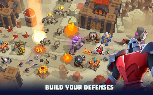 Wild Sky Tower Defense: Epic TD Legends in Kingdom apkmr screenshots 12